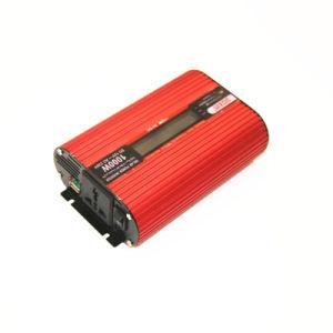 DOXIN 1000W DC12V AC110V 220V Intelligent Off Grid Inversor de Energia Carro Conversor com display LCD e 2 saída USB