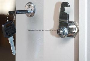 8 het Ijzer van het Staal van het Metaal van de deur kleedt de Kast/de Garderobe/het Kabinet van de Opslag