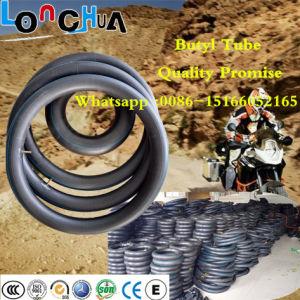 Pourcentage élevé de moto de caoutchouc butyle naturel tube intérieur (2.75-18)