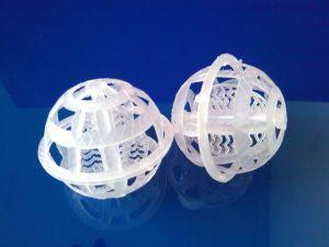 50mm Plastik verschobenes Kugel-Auffüllen für Wasserbehandlung (NX-PB)
