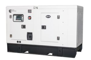 60 kVA 48kw 건강한 증거 닫집을%s 가진 소음이 없는 디젤 엔진 발전기 세트 수입상