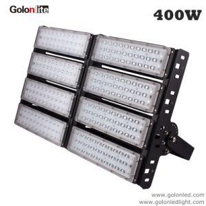 Proyector LED de alta potencia 400W FOCO LED de túnel del estadio montada sobre postes de luz