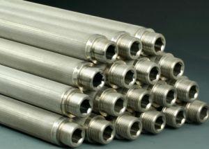 El tubo del filtro