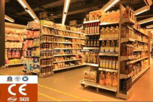 Hochwertiges Cer-Supermarkt-Möbel-Metallbildschirmanzeige-Regal mit konkurrenzfähigem Preis