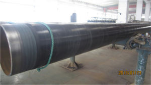 Weifang medio tubo de acero recubierto de acero de 3lpe vio tubo