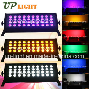 40*18W Rgbwauv 6in1 LEDの壁の洗濯機の段階の照明