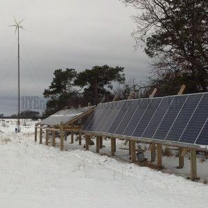 Возобновляемых источников энергии турбины солнечная панель гибридная система генератора