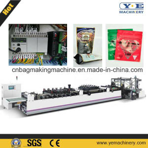 ZD-600zl Automático de Plástico del Soporte Encima de Bolsa de la Cremallera del Bolso Que Hace la Máquina