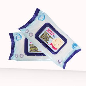 Оптовая OEM Китай завод детского влажных салфеток