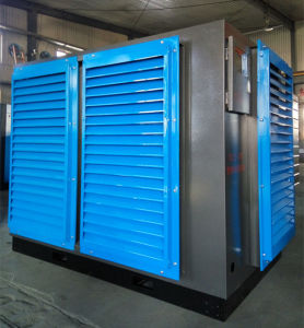 Wechselstrom-energiesparender Doppelläufer-Drehschrauben-Luftverdichter