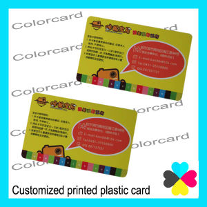 Cr80 Customized Plastic Card