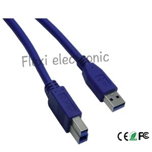 Coperchio libero del cavo Am/Bm dello scanner di stampante del USB 3.0 dell'azzurro per la stampante