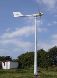 Turbina di vento controllata dell'uscita del passo stabile di potenza Ah-5kw piccola