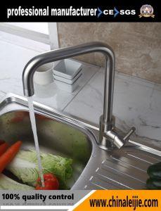 ステンレス鋼の台所コック