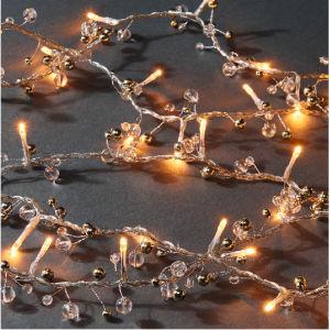 Pearl форма медного провода светодиодный индикатор Рождества String LED волшебная лампа