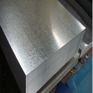 SGCC Galvanized Steel Sheet con Good Quality