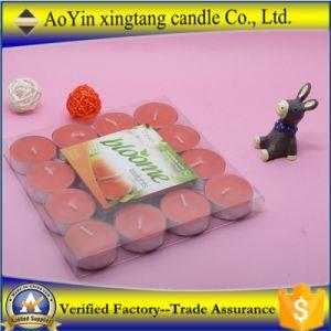 Großhandels100pcs duftende lange brennende Tealight Kerzen