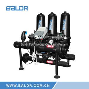 3  Systeem van de Irrigatie van de Filter van de Schijf van de Draaikolk het Auto Backflushing