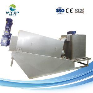 Strumentazione d'asciugamento del mattatoio di acqua di scarico di trattamento del fango mobile della pressa a elica