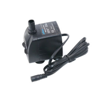 OEM 12V DC sem escovas de alta qualidade 600L/H de vazão das bombas de água