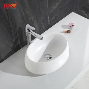 Compteur de surface solide acrylique mat haut bassin de lavage