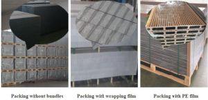 HDPEの木の質はひび抵抗するWPCの合成の塀のポスト(90*90 mm)に