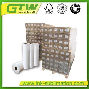 Revestidos 45GSM Sublimação de Grande Formato de papel em rolo de tamanho