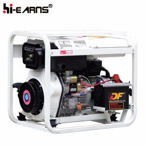 5kw 열린 구조 유형 디젤 엔진 발전기 세트 (DG6000E)