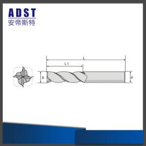 Tipo completo utensile per il taglio del carburo di tungsteno del laminatoio di estremità per alluminio