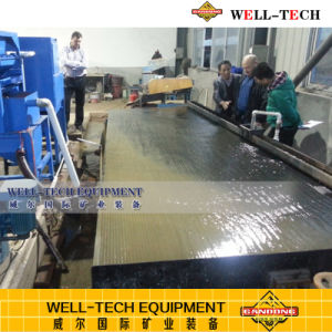 Impianto di lavorazione dell'oro/macchina elaborante dell'oro che agita Tabella