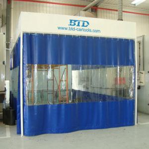 Wasser-Vorhang-Vorbereitungs-Station verwendeter Vorbereitungs-Raum