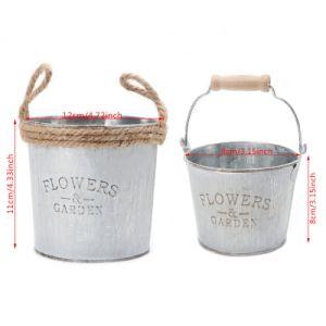 Оптовая торговля творческие сад оформлены утюг аппаратов сеялки Flower Pot