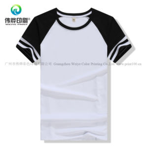 Multi-Choice 면 둥근 목 t-셔츠/옷/의복