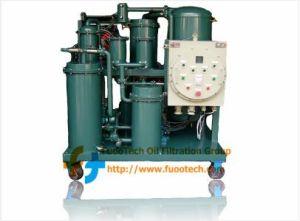 Lop-Ex série do tipo à prova de explosão purificador de óleo lubrificante de Vácuo