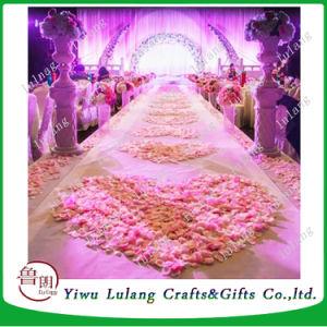 Mayorista de boda caliente simulación decorativas flores Pétalos de Rosas
