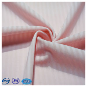 高品質の75%Nylonおよび25%Spandexジャカード下着ファブリック