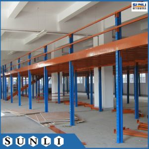 Heavy Duty Suppported rack mezzanine avec plancher en acier