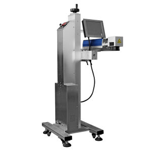 CO2 лазерная маркировка машины для мрамора