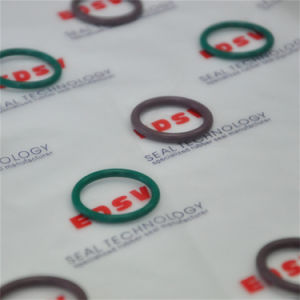 Grüner FKM FPM Viton O-Ring Hochleistungs--Gummidichtungbrown-/O-Ringe/O-Ring