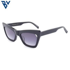 Los recién llegados Premium rectangular de acetato de gafas de sol unisex de diseño de gama alta en el comercio al por mayor
