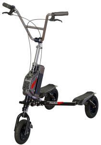 Trikke Freedom Electric 3CV Cambering Bike Scooter de Vehículo de Talla Plegable