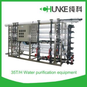 Impianto di per il trattamento dell'acqua del sistema di osmosi d'inversione dell'acqua di mare di Chunke 50t/H