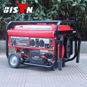 Bison (Chine) BS2500 (H) 2kw 2kv 1 an de garantie de l'essence portatif de démarrage à clé Air-Cooled petit générateur CA