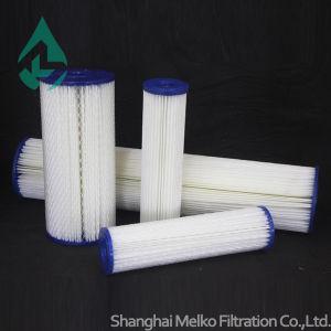 Patroon van de Filter van de polyester de Materiaal Geplooide