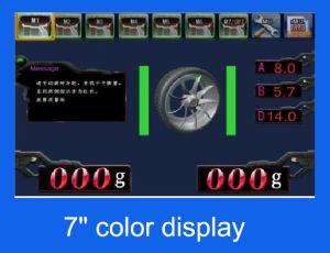 フルオートマチック3Dホイール・バランサ