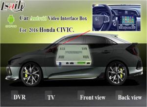 Sistema de Navegação GPS Android para o novo Honda Civic Interface de Vídeo