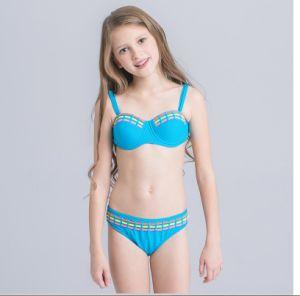 8641e5ec Las niñas niños Bikini traje de baño Trajes de Baño para adolescentes de  patchwork