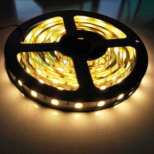 Tira flexible los 96LEDs/M del color blanco caliente 5054 LED los 23W/M