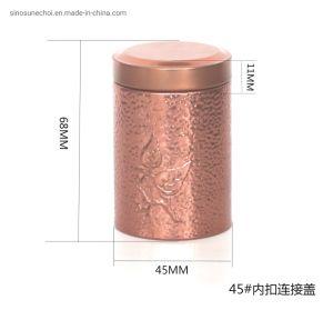 따뜻한 판매 시 티 포장(Tea Packaging)을 위한 라운드 틴박스