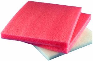 Rojo personalizados cojín de espuma de embalaje de EPE
